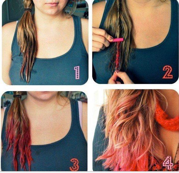 Как покрасить волосы прядями в домашних условиях пошагово