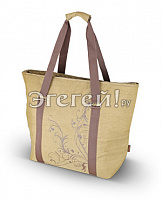 Сумка-холодильник (термосумка) Freezer Tote - Brown, 27L