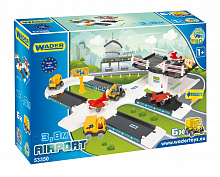 Игровой набор WADER 53350 Kid Cars 3D аэропорт