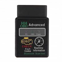 Автосканер ELM327 HH OBD advanced bluetooth RUS