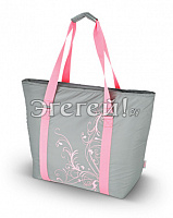 Сумка-холодильник (термосумка) Freezer Tote - Grey, 27 L.